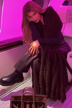 "See Kylie Jenner's $72 Million Pink Personal Jet ""KylieAir"" Personal Jet, Kardashian Family, Kristin Cavallari, Catherine Zeta Jones, Tina Fey, Gisele Bundchen, Nicole Richie, Pippa Middleton, Eva Longoria"