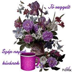 Good Morning, Floral Wreath, Wreaths, Plants, Decor, Buen Dia, Floral Crown, Decoration, Bonjour