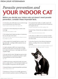 Client handout: Parasite prevention for the indoor-only cat - #Veterinary - dvm360