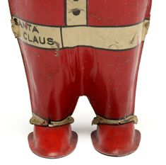 An alternate depiction of Santa Claus with conical hat and low hanging one-piece suit. on Sep 2019