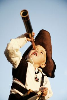 Awesome pirate party costume