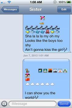 Disney emojis.