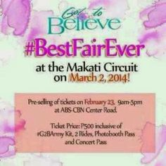 Got To Believe G2B Army Concert - The Best Fair Ever   Got To Believe - Kathniel
