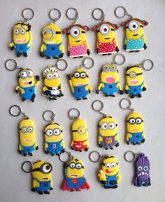 "These are so cool! I want one of the minion making the ""Whaaaa~?"" face! XD"