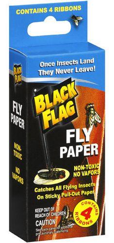 Moneymaker Black Flag Fly Paper at Walmart!