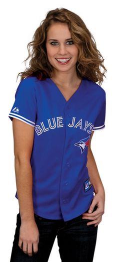 Can't go wrong with a classic jersey! Baseball Toronto, Toronto Blue Jays, Go Blue, Nfl Jerseys, Mlb, Cute Outfits, Spirit, Classic, Clothing
