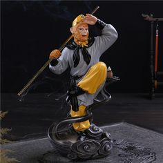Sun Wukong monkey auspicious Incense burner holder ornaments sandalwood aromatherapy incense furnace Backflow * To view further, visit http://performance.affiliaxe.com/aff_c?offer_id=11422