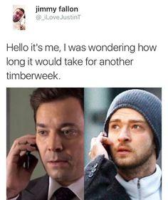 Justin Timberlake. Jimmy Fallon. Timberweek
