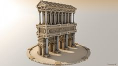 Temple - By Saywh Minecraft Project