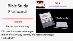 Illustration-Title-Bible Study Flashcards-text-logo