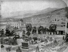 Plaza Bolívar de Caracas. (1876)