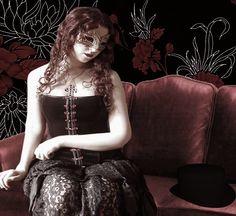 Lonely Masquerade by VisualPoetress.deviantart.com on @deviantART