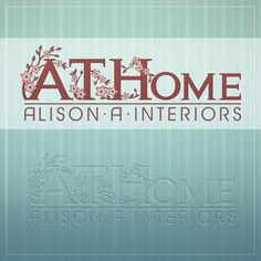 This is the Creative Hat Logo Design Concept for At Home Interiors