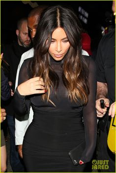 Kim Kardashian & Kanye West Party With Justin Bieber After His Staples Center Concert: Photo #3613505. Kim Kardashian and husband Kanye West head inside Warwick nightclub after attending Justin Bieber's Purpose Tour show at Staples Center on Wednesday night (March…