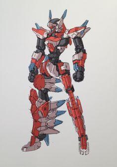 Kotobukiya Framearms Concept Art コトブキヤ フレームアームズ... - Rocketumblr