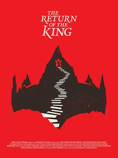 Lord of the Rings trilogy by Matt Chase_Check more movie poster design on: http://minimalmovieposters.tumblr.com/