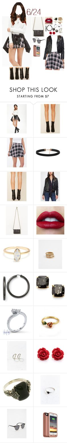 """""""6.24.16"""" by gfc-account ❤ liked on Polyvore featuring Forever 21, Kill City, Free People, Ann Taylor, Kate Spade, Disney Couture, Adina Reyter and Urban Outfitters"""