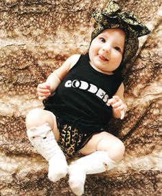 Goddess Baby onesie - The Pine Torch. Baby girl clothes