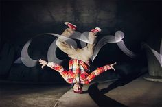 Illusion: If you combine break dancing with light painting, this is what you get! These pictures were captured by Polish photographer Joanna Jaskolska, who swears that the only use of Photoshop was for color correction. http://illusion.scene360.com/art/43507/break-into-the-light/