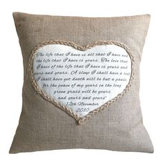 lavender heart cushion by vintage designs reborn | notonthehighstreet.com