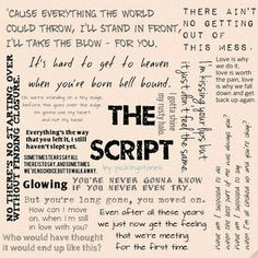 The script song quotes Love Songs Lyrics, Song Lyric Quotes, Music Quotes, Music Lyrics, Me Quotes, Lyric Art, The Script Band, Lyrics Meaning, Lyric Drawings