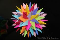 Origami 9 intersecting planes
