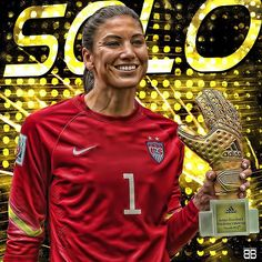 Hope Solo wins the Golden Glove Award (2nd in her career). #worldcup #hopesolo…