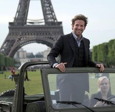 All I need = Bradley Cooper and Eiffel...you can have the Jeep.