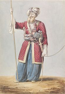 A Mamluk nobleman from Aleppo