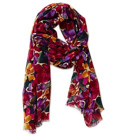 Patricia Nash Blooming Romance Collection Scarf #Dillards