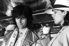 Keith Richards & Ushi Obermaier - 1975