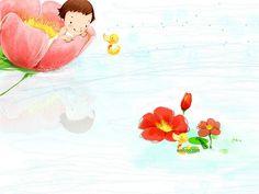 Sweet Childhood - Colorful Children illustrations by Kim Jong Bok  - Happy Childhood - Sweet Girl Art Illustration Wallpaper 3