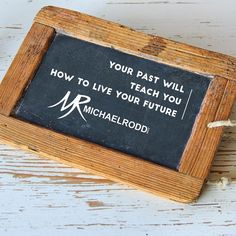 Don't let the past go to waste by ignoring and not applying the lessons to your present and future