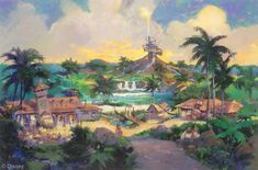 A Thrill Wind in Florida: Thirty Years of Liquid Entertainment at Typhoon Lagoon Disney Kunst, Disney Art, Disney World Resorts, Walt Disney World, Walt Disney Imagineering, Disney Parks Blog, Disney Traditions, Disney Concept Art, Parking Design