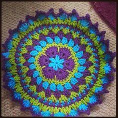 Benny Rens Creations: Crochet Mandala pattern