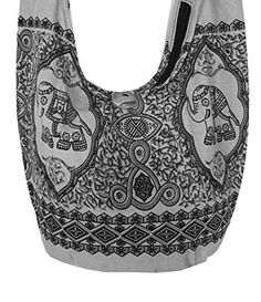"""New Trending Shoulder Bags: Lovely Creationss Hippie Boho New Elephant Crossbody Bohemian Gypsy Sling Shoulder Bag Small Size (Gray). Lovely Creations's Hippie Boho New Elephant Crossbody Bohemian Gypsy Sling Shoulder Bag """"Small"""" Size (Gray)  Special Offer: $7.98  199 Reviews This product ship by Amazon FBA which reach you a few days. Lovely creations's Hippie Boho Elephant Crossbody Bohemian..."""