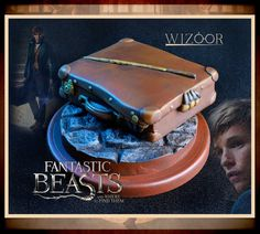 Newt Scamander Suitcase Fantastic Beasts And Where To by WIZOOR