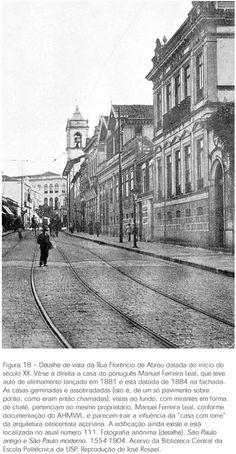 Nos caminhos da Luz, antigos palacetes da elite paulistana Cidades Do Interior, Sao Paulo Brazil, Paulistano, Old City, Concorde, Vintage Photos, Past, Street View, Black And White