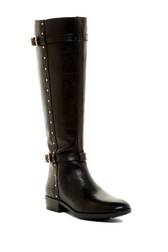 Vince Camuto | Preslen Studded Riding Boot | Nordstrom Rack