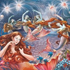 Incredible Fairy Tale Illustrations by Irina Vinnik.|FunPalStudio| Art, Artist, Artwork, Illustrations, Entertainment, beautiful, creativity, paintings, drawings, vibrant color,nature, fairy tales, graphic designs.
