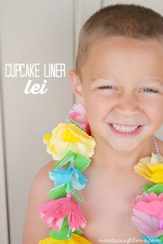 Cupcake Liner Crafts are perfect for kids and adults. You can get them in all so… Cupcake Liner Crafts are perfect for kids and adults. You can get them in all sorts of pretty patterns and colors. Hawaiian Crafts, Hawaiian Theme, Hawaiian Luau, Hawaiian Parties, Hawaiian Birthday, Moana Birthday, Cupcake Liner Crafts, Cupcake Liners, Cupcake Garland