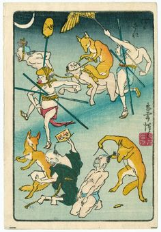 from the series One Hundred Pictures by Kyôsai (Kyôsai hyakuzu)