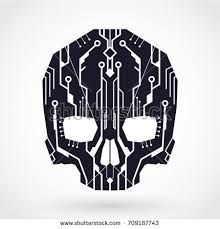 Image result for circuit skull