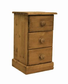 A lovely narrow bedside cabinet.