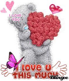 hearts n hugs pics I Love You Images, Love You Gif, Cute Love Gif, Love Hug, Love Bear, Tatty Teddy, I Love You Husband, Bisous Gif, Teddy Bear Quotes