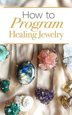 how to program healing jewelry