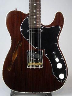 Psychederhythm [Solid-T Custom] Telecaster Thinline, Fender Bender, Guitar Amp, Guitars, Instruments, Style, Musica, Swag, Guitar