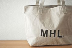 MARGARET HOWELL MHL. TOTE BAG