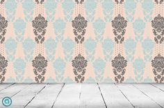 Removable Wallpaper Obadiah Peel & Stick Self by AccentWallCustoms, $79.00