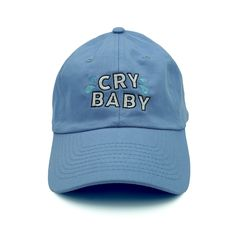 Cry Baby Dad Hat - Blue